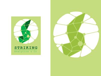 Striking Analytics design logo