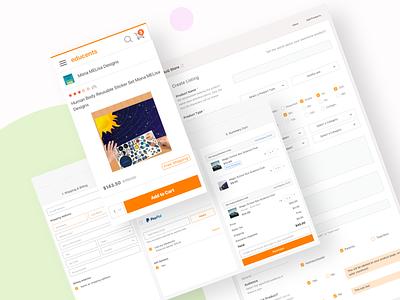 Educents UX Fixes branding mobile web interaction design product design typography ux ui design