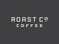 Roast Co main type wordmark packaging california vintage logo roaster coffee typography
