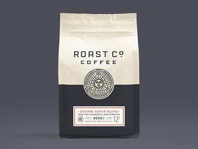 Roast Co Packaging packaging rebrand identity oakland roasters sun crest logo coffee
