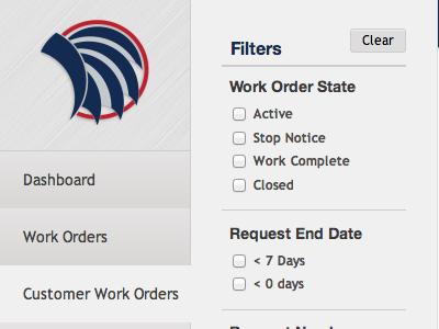 Dashboard dashboard filter
