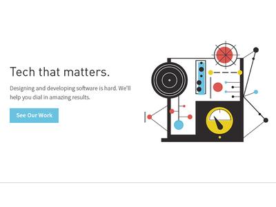 Gaslight Homepage Update website icon software work machine