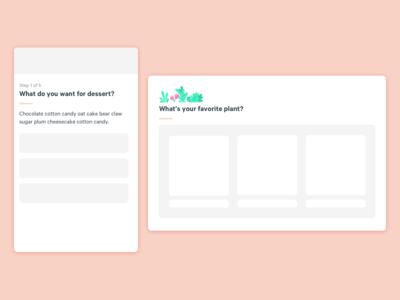 Block Header Design Element web mobile ui header design system