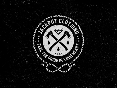 jackpot clothing logo 2013 by robert frog dribbble dribbble