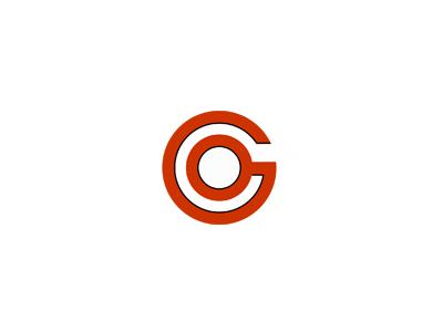 Go logo design letters