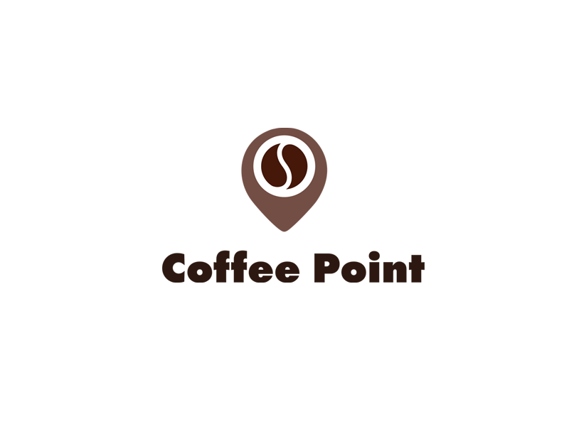 Coffee Point Logo By Communication Agency On Dribbble