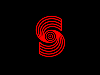 S Monogram Logo design studio s logo logo design studio radar eye hands monogram communication agency pavel surovy logo designer