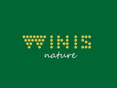 Winis Nature Green Logo Design logo designer pavel surovy communication agency logo design logo winis winis nature grape