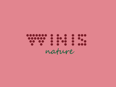 Winis Nature Rose grape winis nature winis logo logo design communication agency pavel surovy logo designer