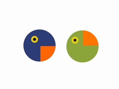 Papiga papiga parrot pavel surovy logo design logo symbol brand