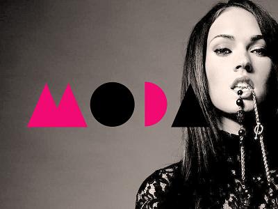 Moda Fashion Magazine moda fashion mag magazine pavel surovy logo design logo brand