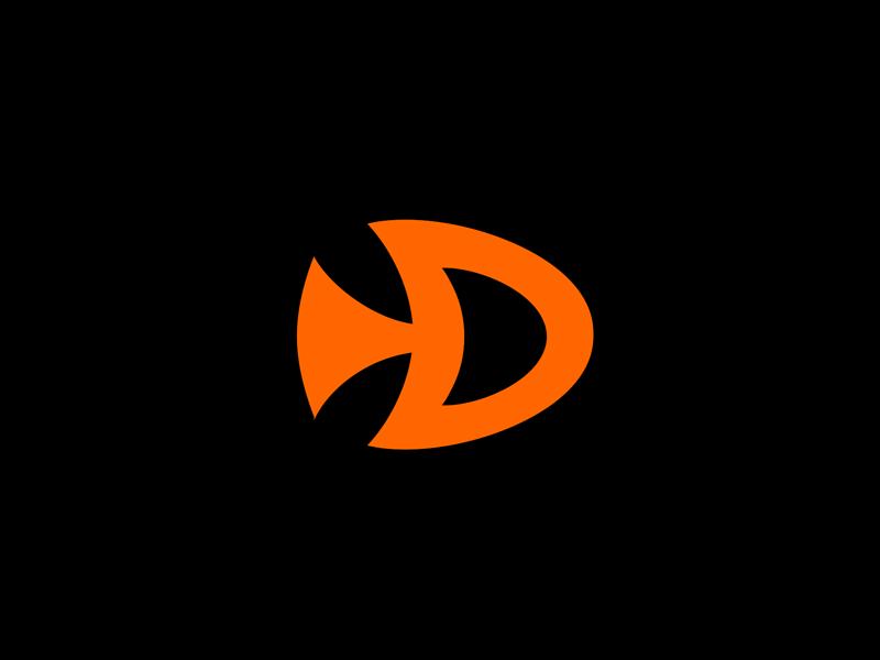 Fish Media design logo designer pavel surovy communication agency symbol brand branding logo design logo fish media