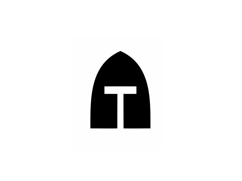 Templars templars temple helm t logo logo design branding brand symbol communication agency pavel surovy logo designer