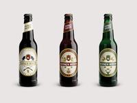 Kings Beer Packaging Design