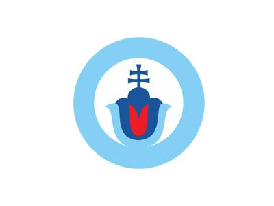 SLOVACI VPRED slovak flower blue slovakia logo pavel surovy
