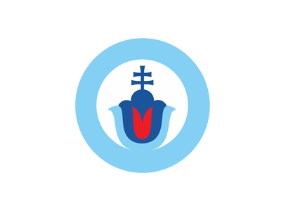 SLOVACI VPRED slovak flower blue slovakia logo pavel surovy