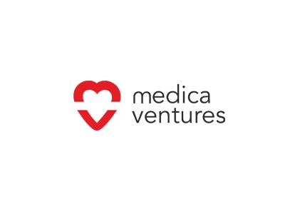 Medica Ventures logo identity medica medical medicine health logo design branding brand symbol communication agency pavel surovy logo designer design ventures