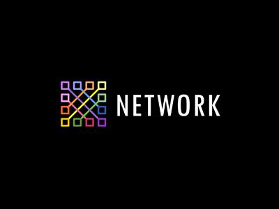Network logo design
