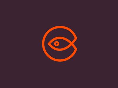 Fish eye fishing logo design store fish design