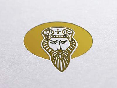 Vasilije Ostroski Saint logo design branding brand symbol communication agency pavel surovy logo designer logo vasilije ostroški saint