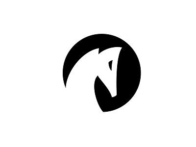 White Black Horse symbol brand communication agency pavel surovy logo designer logo logo design black pastuv horse white