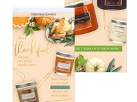 Colonial Candle Thanksgiving Mailer