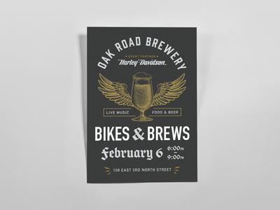 Bikes & Brews Poster