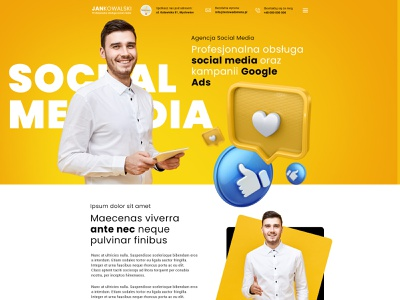 Social Media social media website webdesign web design web