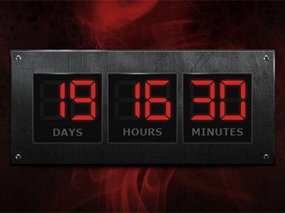 Digital counter metal screws digital counter timer countdown