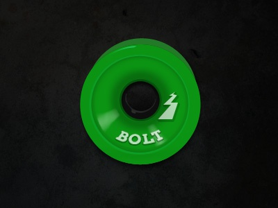 Skateboard wheel vector illustration wheel skate