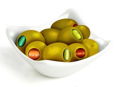 Vector olives vector olives illustration