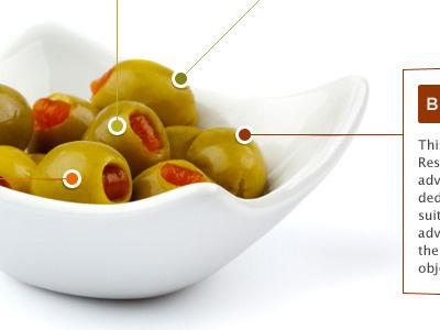 Olives circles olives