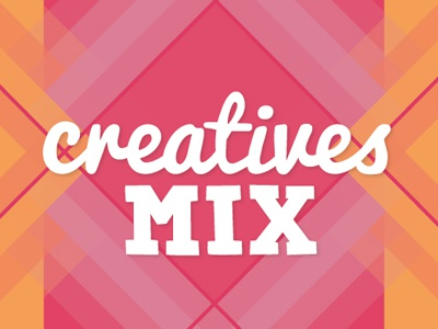 Creatives Mix Logo logo geometric hand written