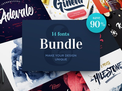90% OFF. Fonts Bundle. free sale typography script font fonts bundle