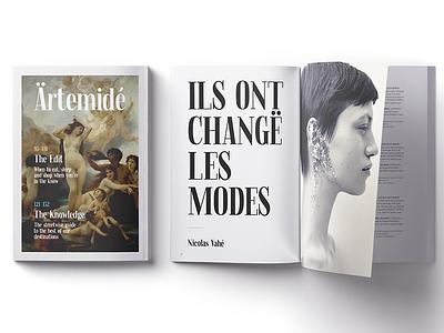Fjørd Serif elegant modern typerface magazine branding logo font serif