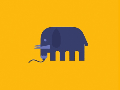 Elephant Pencil elephant pencil animal icon
