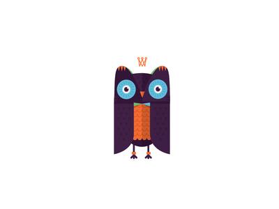 Little OWL owl character animal bird friend