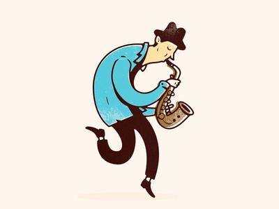 jazz character jazz vintage