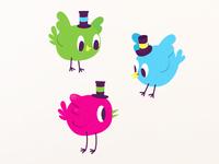 Pájaros.