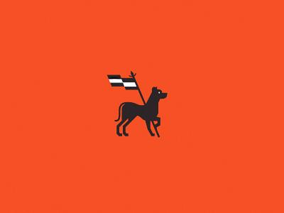 Cimarron Dog dog cimarron flag guardian