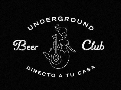 UBC beer mermaid logo