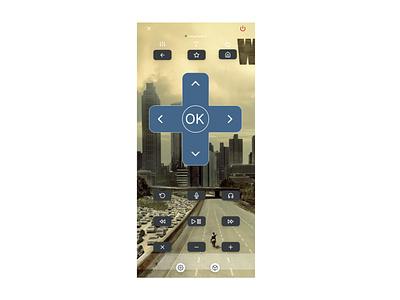 Roku inspiration remote control design framer ux ui