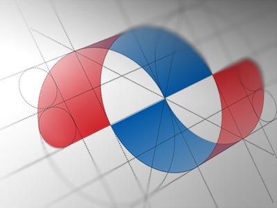 Dguard mark (grid) alexwende alex logo wende alexander logodesign emblem symbol mark shield security data construction