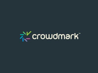 Crowdmark Final alexwende alexander wende logo education monogram typography crowd colorful spiral wordmark logodesign branding