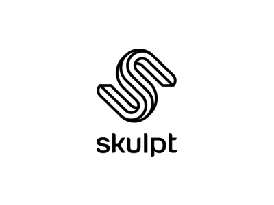 skulpt identity logodesign branding logo symbol alexwende mark fitness sculpture impossible