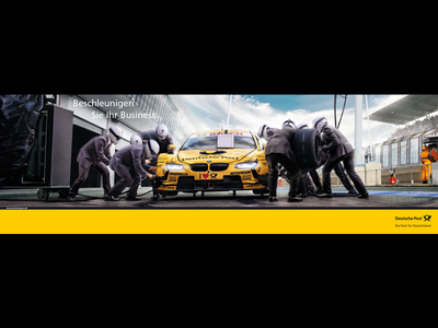 Accelerate Your Business. sports racing pitstop business photoshop photomanipulation photography art direction alexwende alexander wende