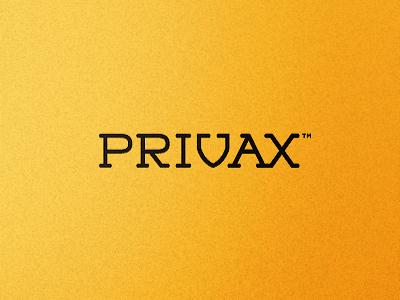 Privax Dribbble 01 A alex wende privacy internet web software vpn security anonym surfing shield black orange identity design graphic typography monotype serif branding logo symbol logos mark alexander wende alexwende logodesign