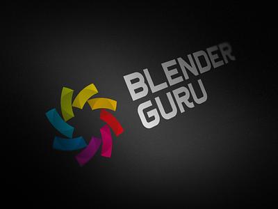 Blenderguru Complete blender blend flower circles grid alexwende logodesign logo symbol typography