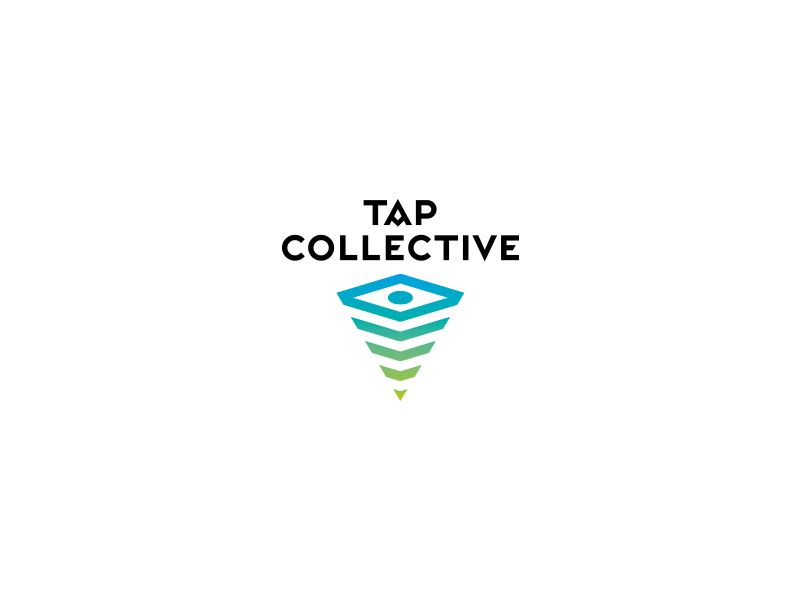 Tap Collective logo mobile photography typography wordmark logodesign branding smartphone