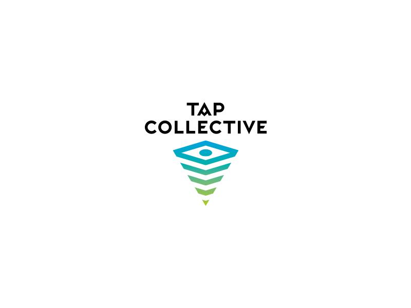 Tap Collective logo mobile photography typography wordmark logodesign branding smartphone